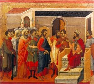 Jesus before Herod 2