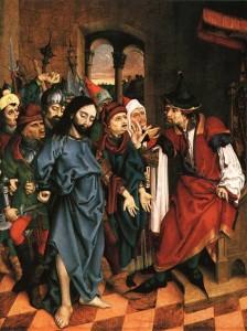 Jesus before Pilate 3