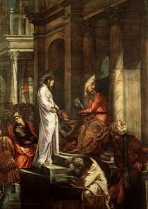 Jesus before Pilate 4