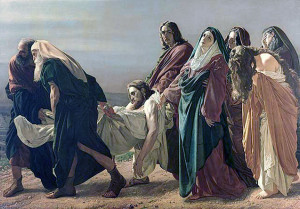 Christ Carried to Tomb--Ciseri